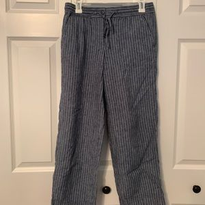 Talbots linen/cotton pants
